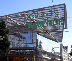 Kaufhof Department Store, Chemnitz Germany