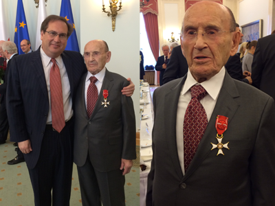 David Mitzner / Polish Medal Of Honor